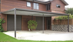 A carport can be a useful addition to your home.
