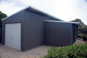 Steel sheds will last through summer storms