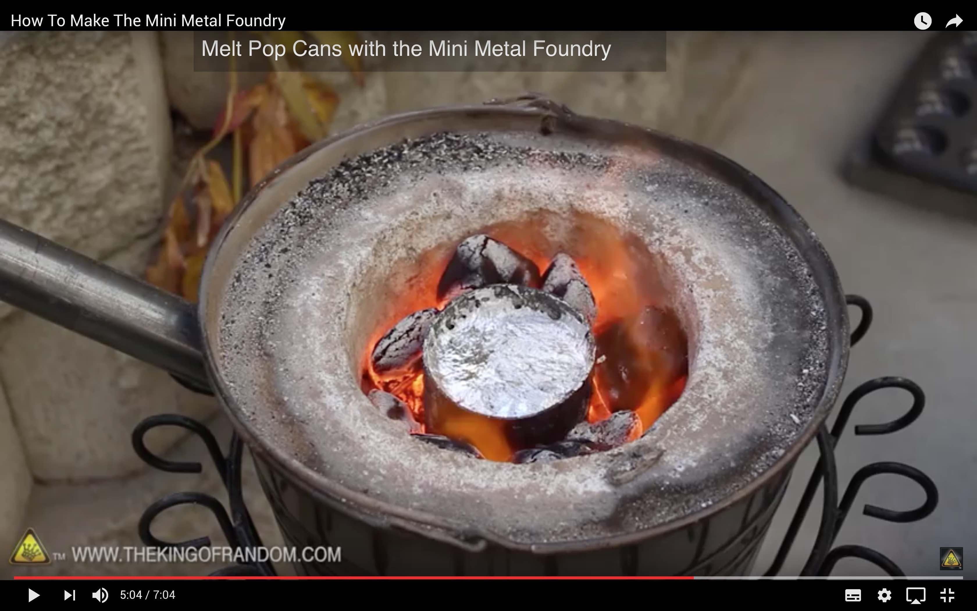 Как сделать печь для плавки металла 27