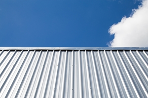 A custom designed awning will keep the weather out, but allow your employees to work outside.