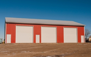 Adding your business brand colours to the sheds on the property can help.