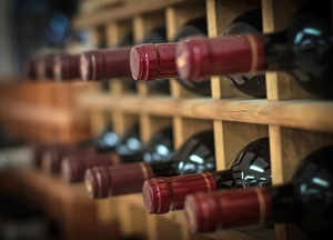 Would you store your wine in a custom designed shed?